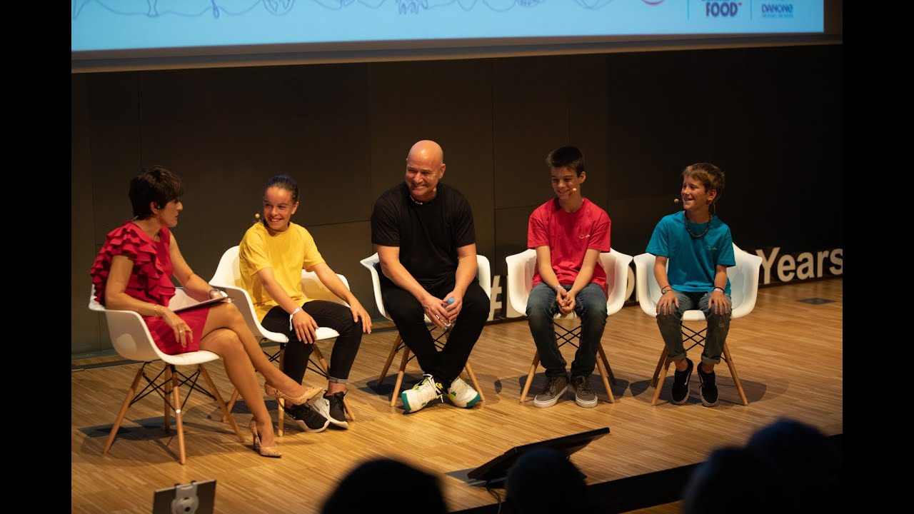 Andre Agassi | Talks with the future generation