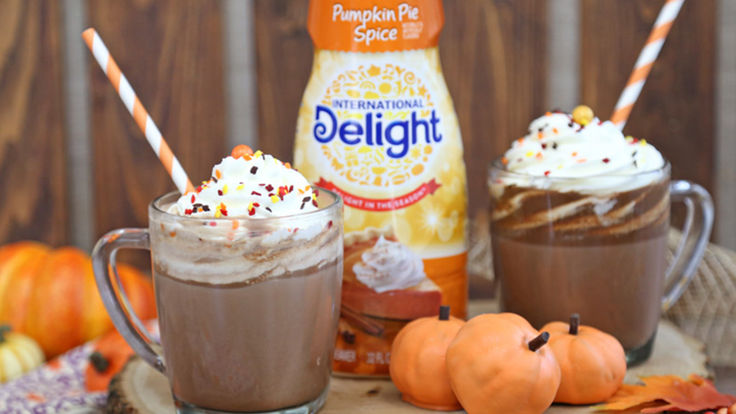 Packshot du produit International Delight saveur Pumpkin Pie Spice