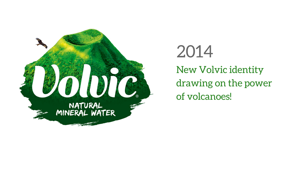 New Volvic identity in 2014