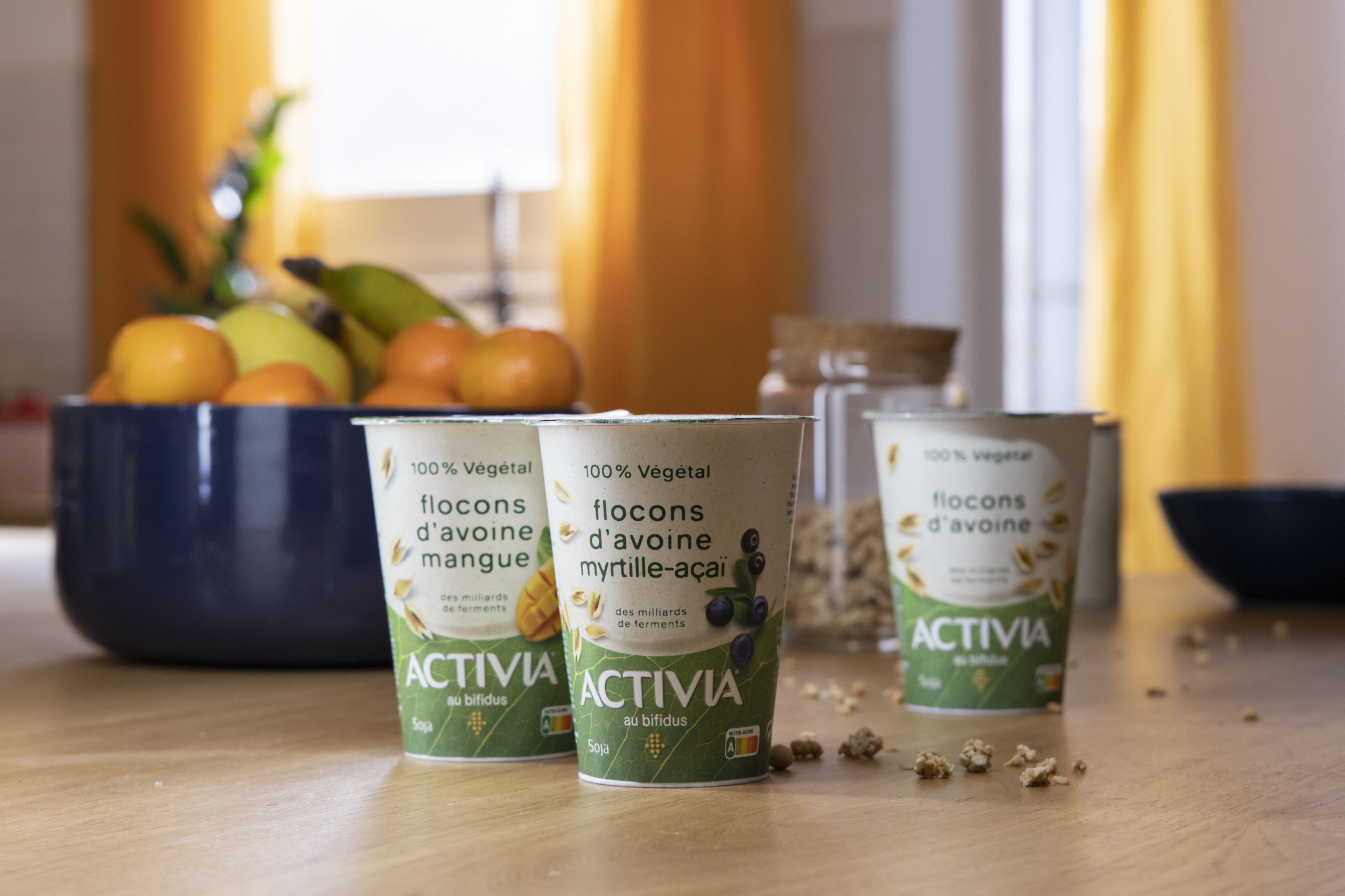 Meet the 100% plant-based Activia