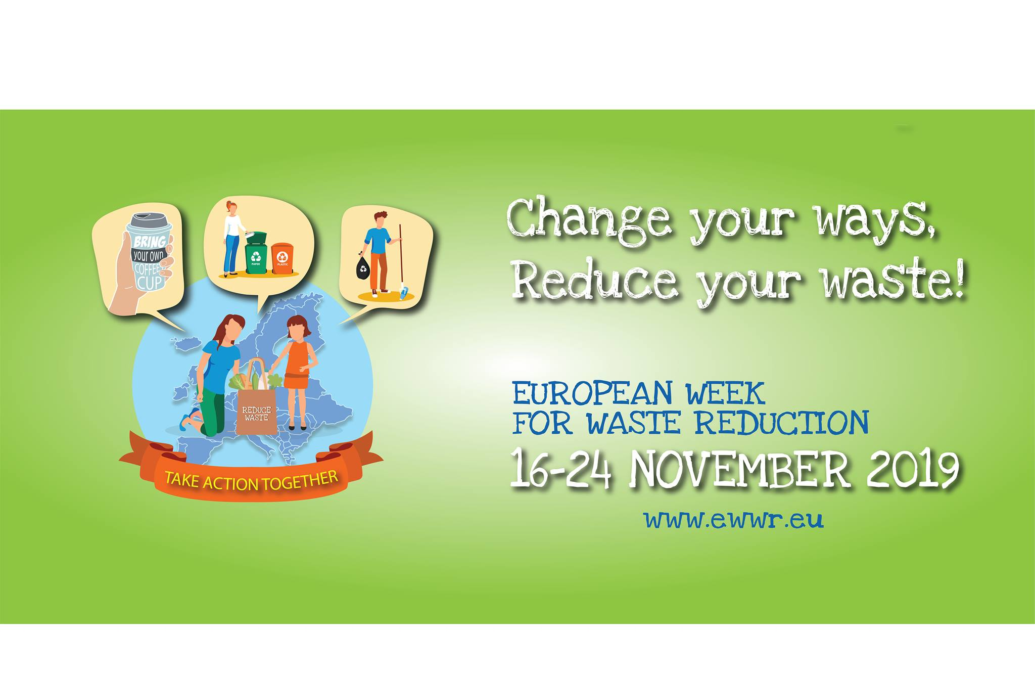 European Week for Waste Reduction visual